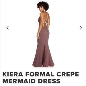 Windsor NEW plum formal dress Medium